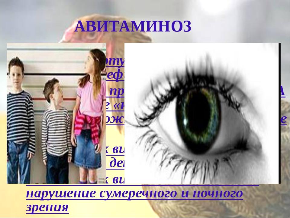 АВИТАМИНОЗ Сухость во рту и сухость кожи могут говорить о дефиците витамина А...