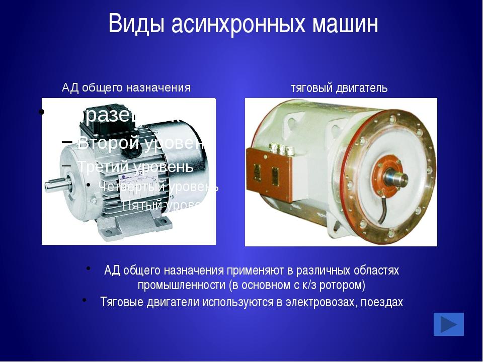 Тесты по АД Неподвижные части АД: Статор Ротор Вентилятор Тест №1