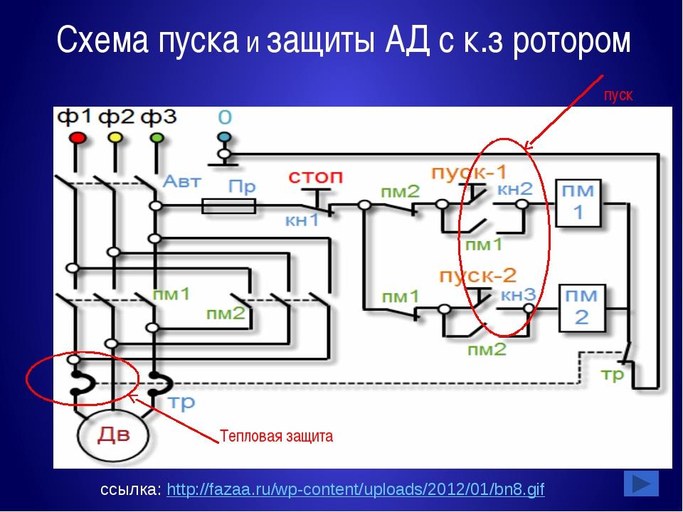 Интернет - ссылки http://electricalschool.info/spravochnik/maschiny/ http://w...