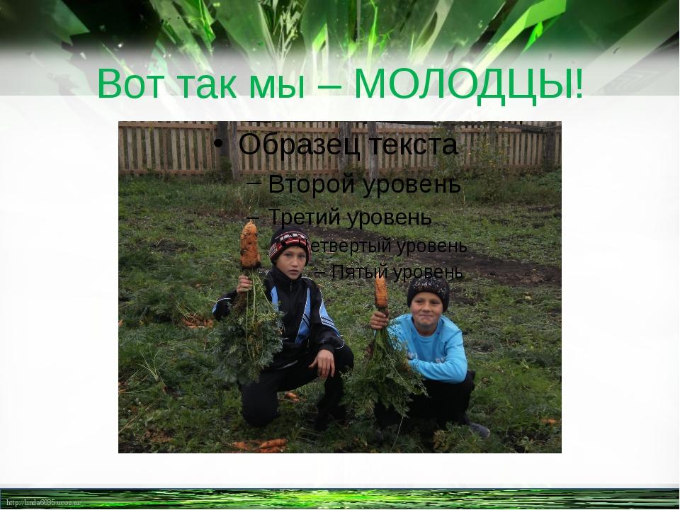 Вот так мы – МОЛОДЦЫ! http://linda6035.ucoz.ru/