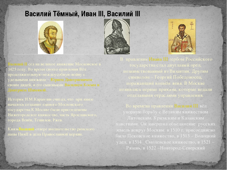 Василий II сел на великое княжение Московское в 1425 году. Во время своего пр...