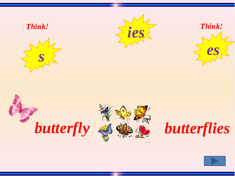 butterfly butterflies Think! Think! s ies es