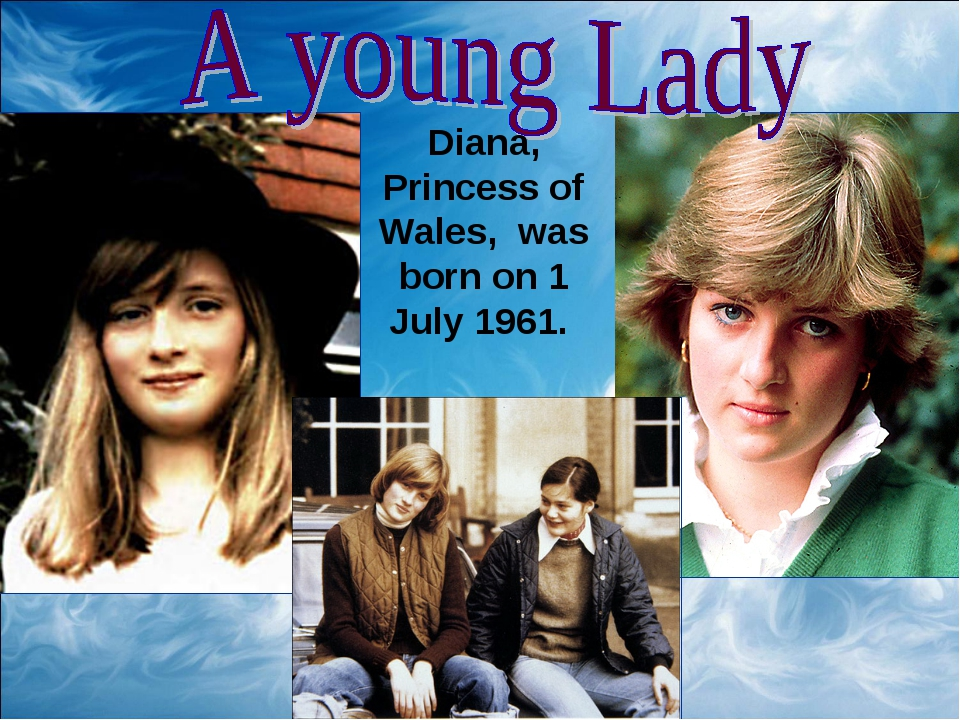 Diana, Princess of Wales, was born on 1 July 1961.
