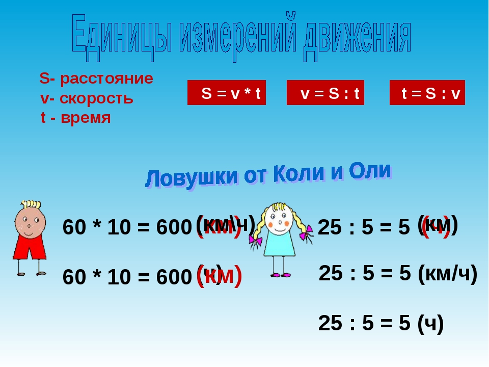 (км) 25 : 5 = 5 (ч) 25 : 5 = 5 (км/ч) 60 * 10 = 600 60 * 10 = 600 (км\ч) (ч)...