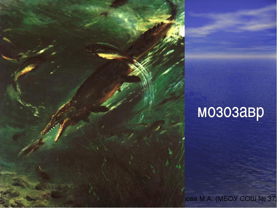 мозозавр автор-составитель: Карташова М.А. (МБОУ СОШ № 37)