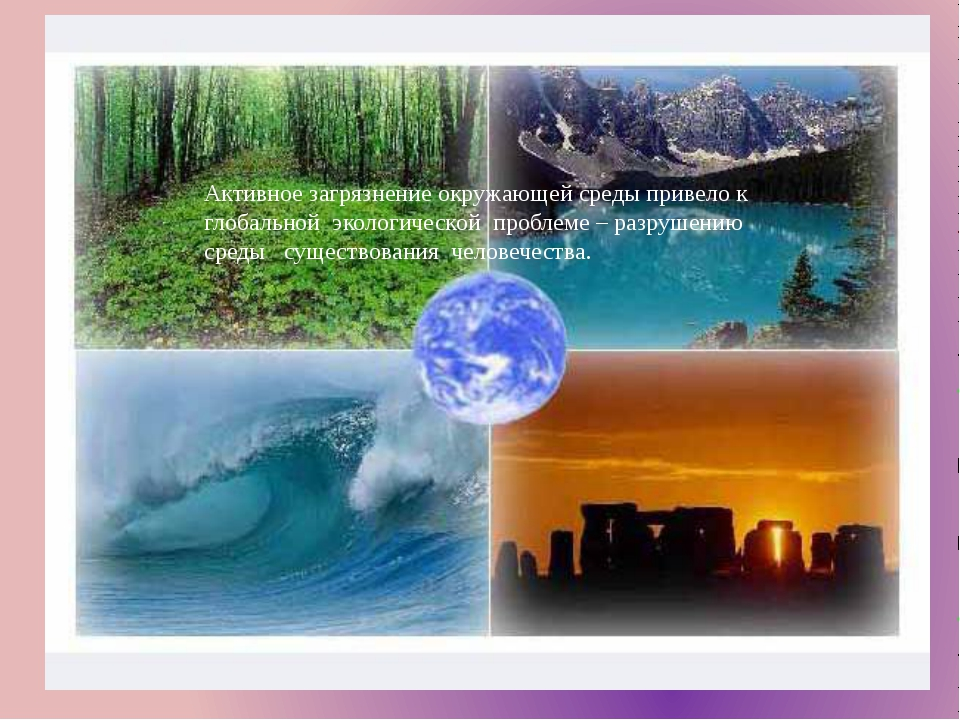 Активное загрязнение окружающей среды привело к глобальной экологической проб...