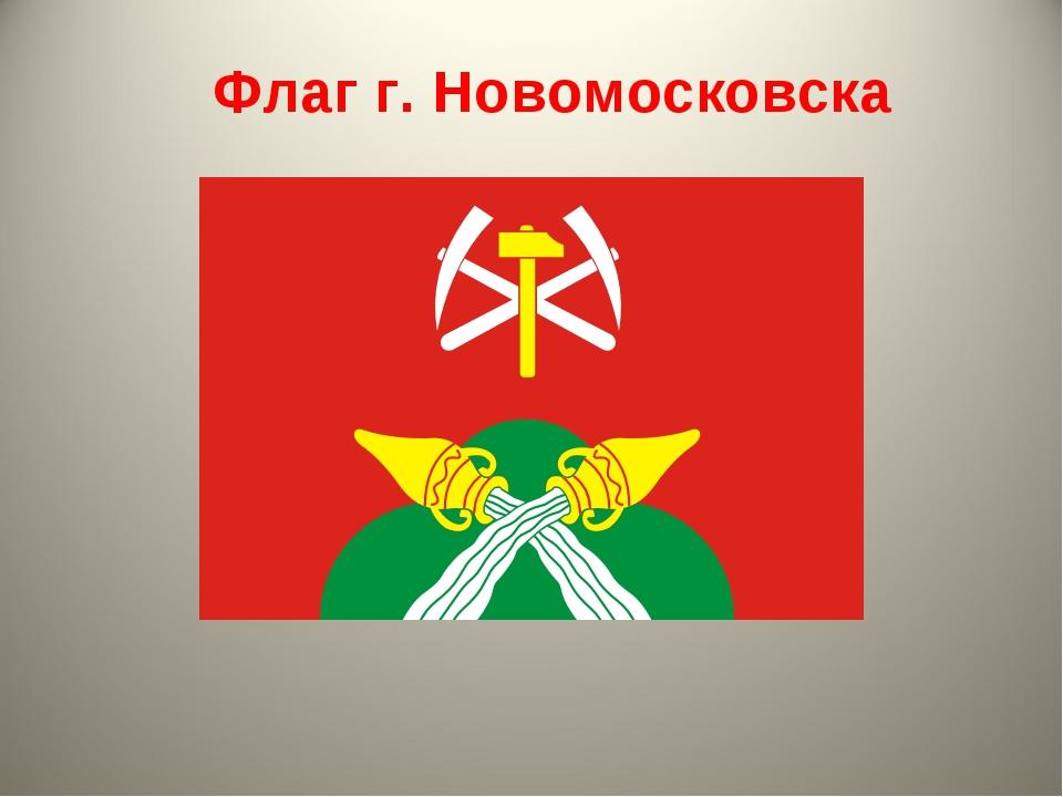 Флаг г. Новомосковска