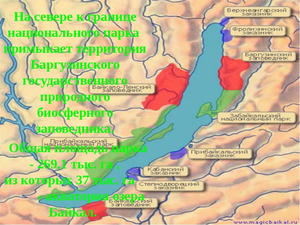 На севере к границе национального парка примыкает территория Баргузинского го...