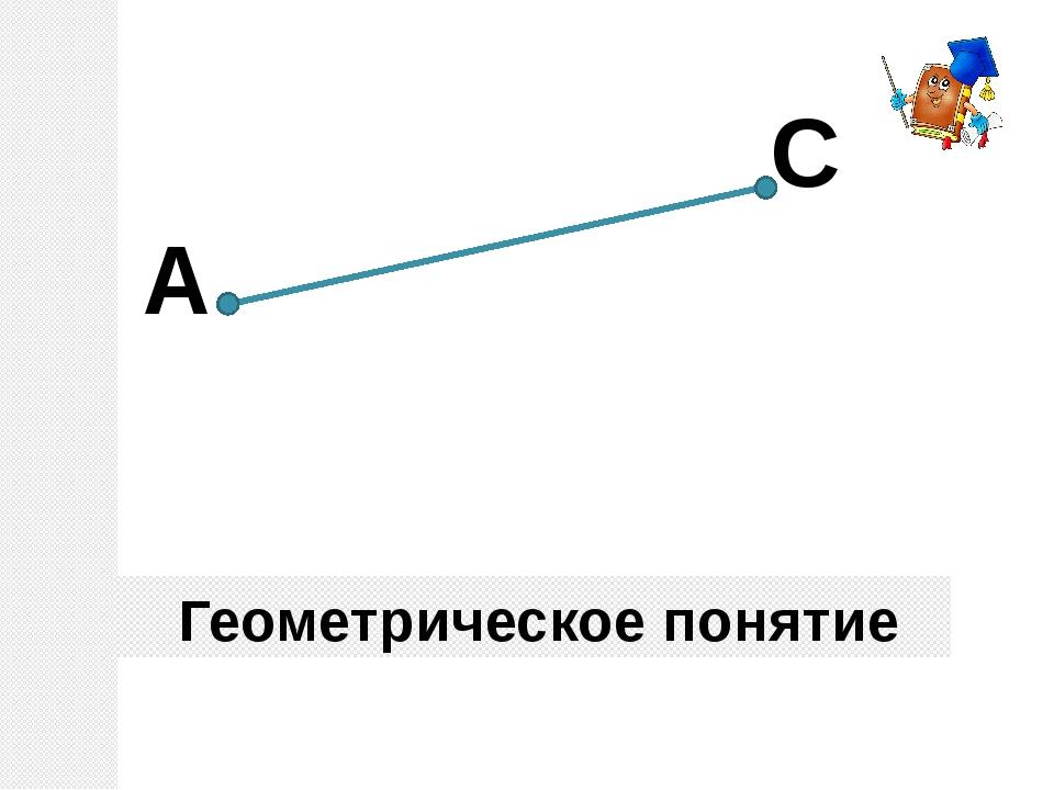 Геометрическое понятие А С