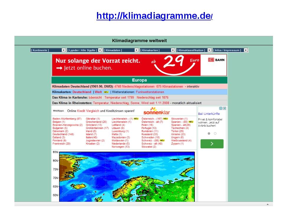 http://klimadiagramme.de/