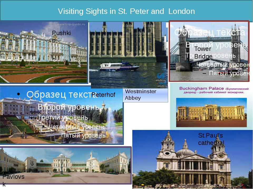 Visiting Sights in St. Peter and London Peterhof Pavlovsk Westminster Abbey P...