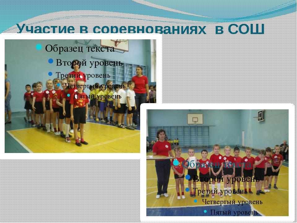Участие в соревнованиях в СОШ