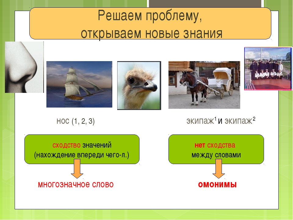Решаем проблему, открываем новые знания сходство значений (нахождение впереди...