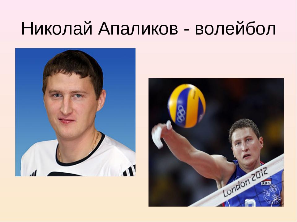 Николай Апаликов - волейбол