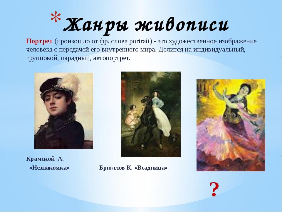 Найти авторов картин обозначенных знаком вопроса Домашнее задание