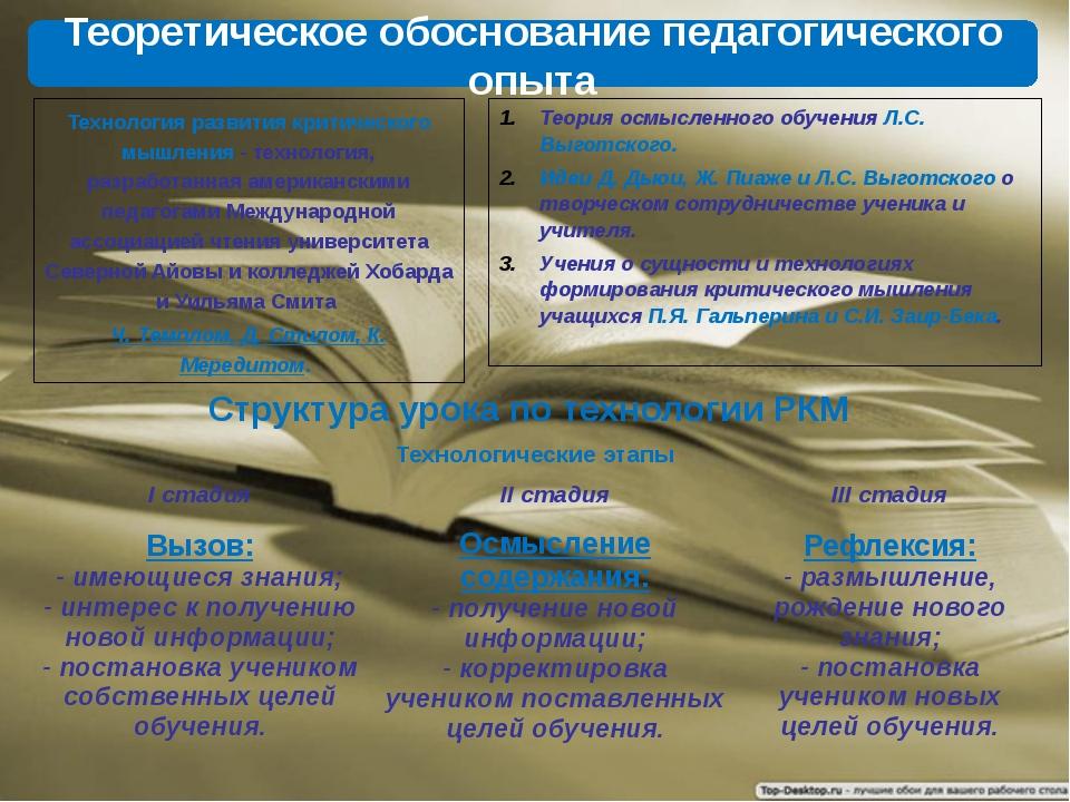 Теория осмысленного обучения Л.С. Выготского. Идеи Д. Дьюи, Ж. Пиаже и Л.С. В...
