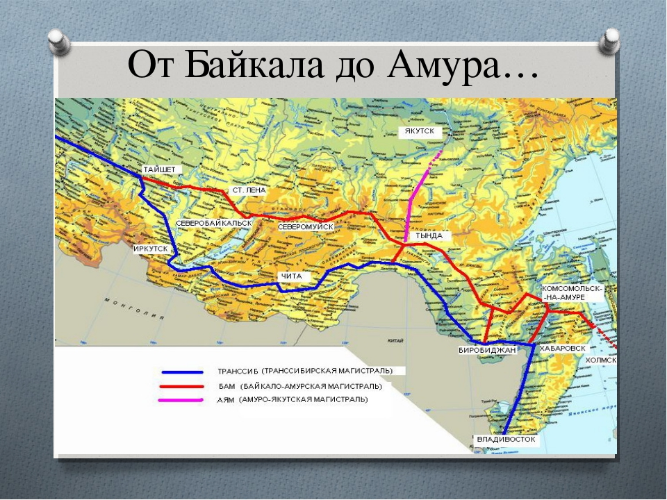 От Байкала до Амура…