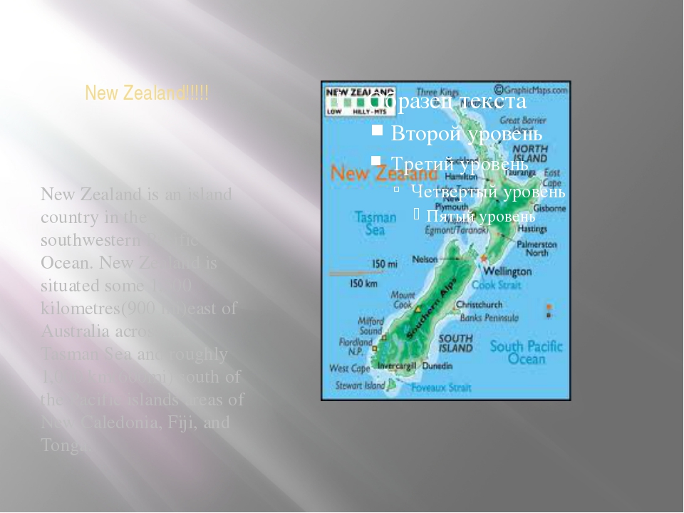 New Zealand!!!!! New Zealand is an island country in the southwestern Pacific...