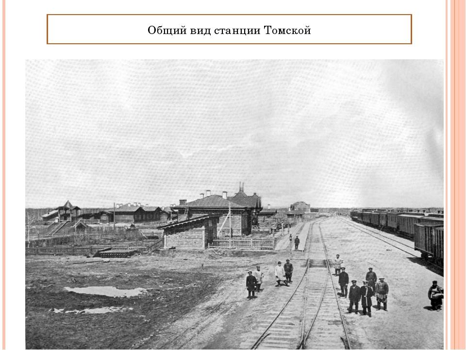 Общий вид станции Томской