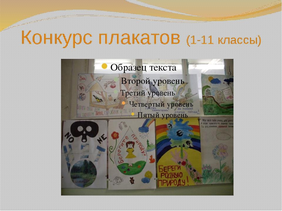 Конкурс плакатов (1-11 классы)