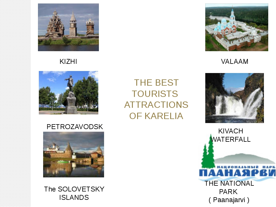THE BEST TOURISTS ATTRACTIONS OF KARELIA KIZHI PETROZAVODSK KIVACH WATERFALL...