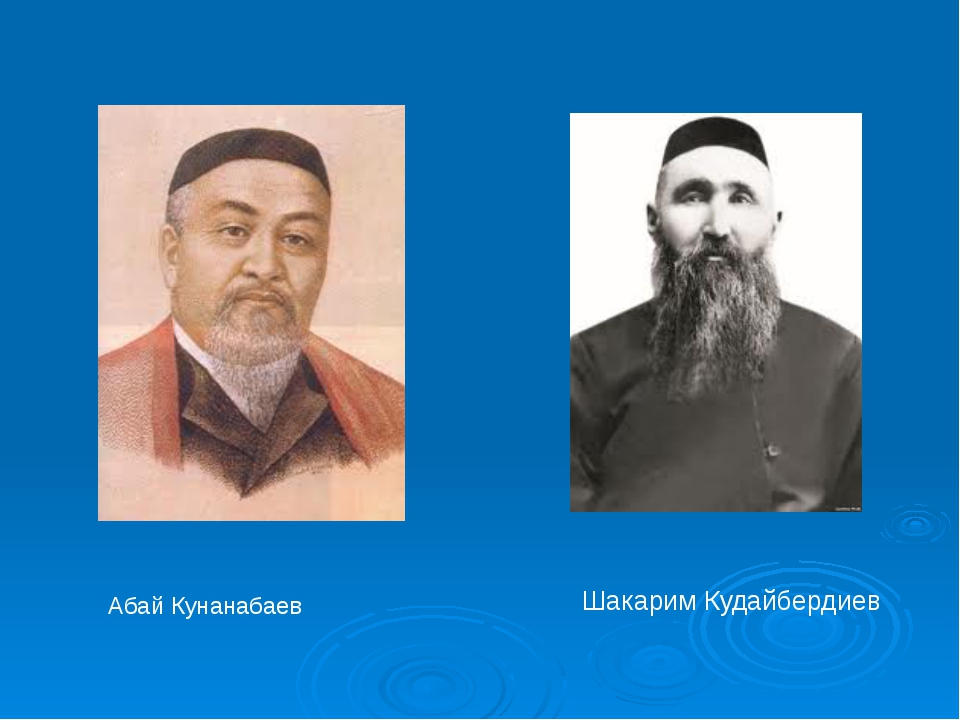 Шакарим Кудайбердиев Абай Кунанабаев