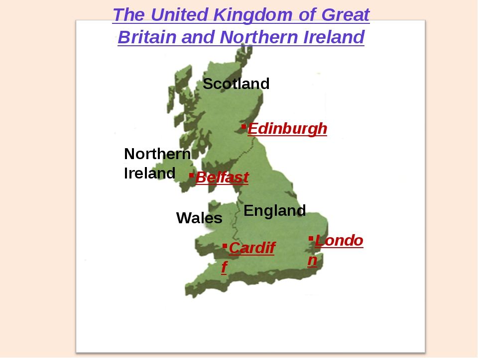 Scotland England Wales Northern Ireland The United Kingdom of Great Britain a...