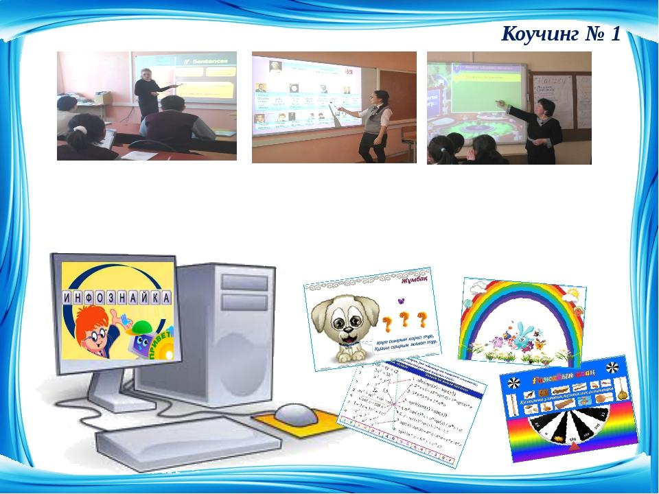 Использование ИКТ на уроках. Презентация: гиперссылка и анимация. Коучинг № 1