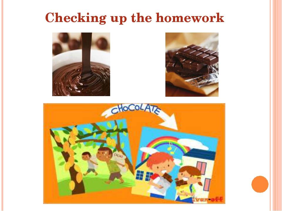 Checking up the homework
