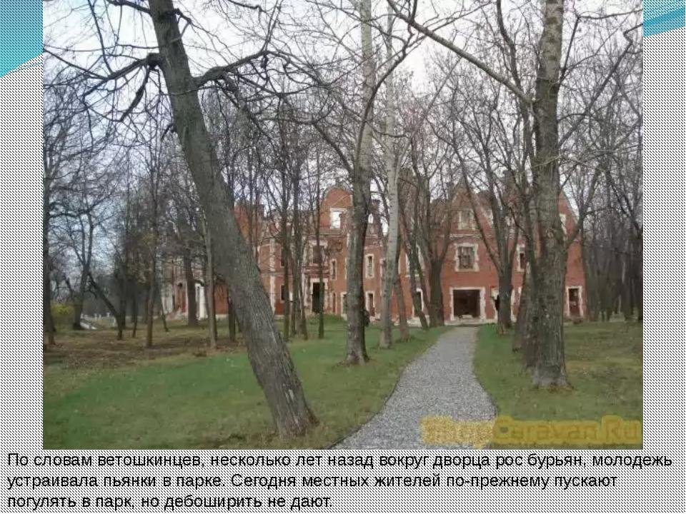 По словам ветошкинцев, несколько лет назад вокруг дворца рос бурьян, молодежь...