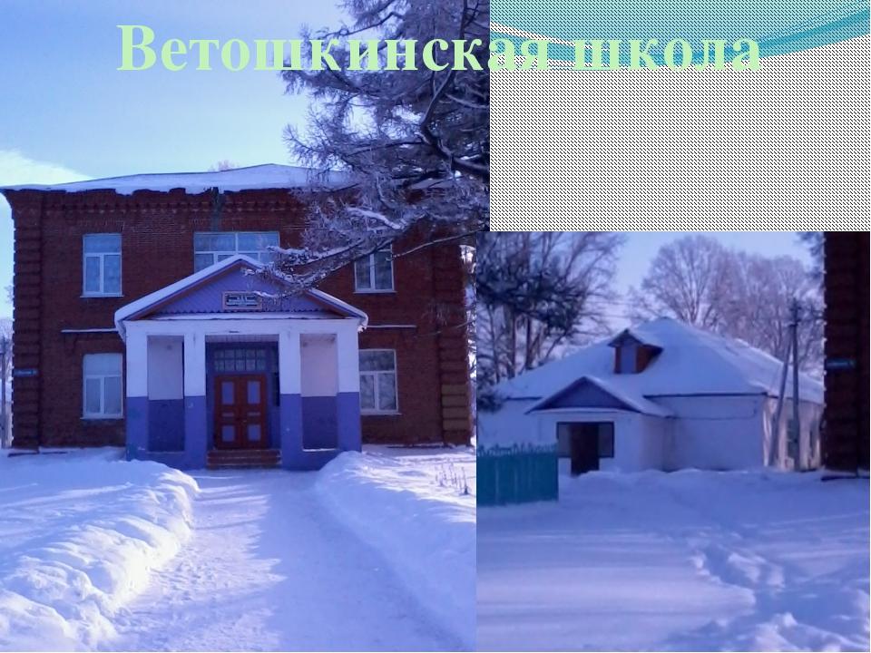 Ветошкинская школа