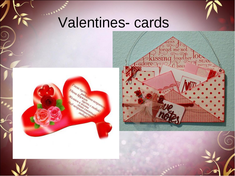 Valentines- cards