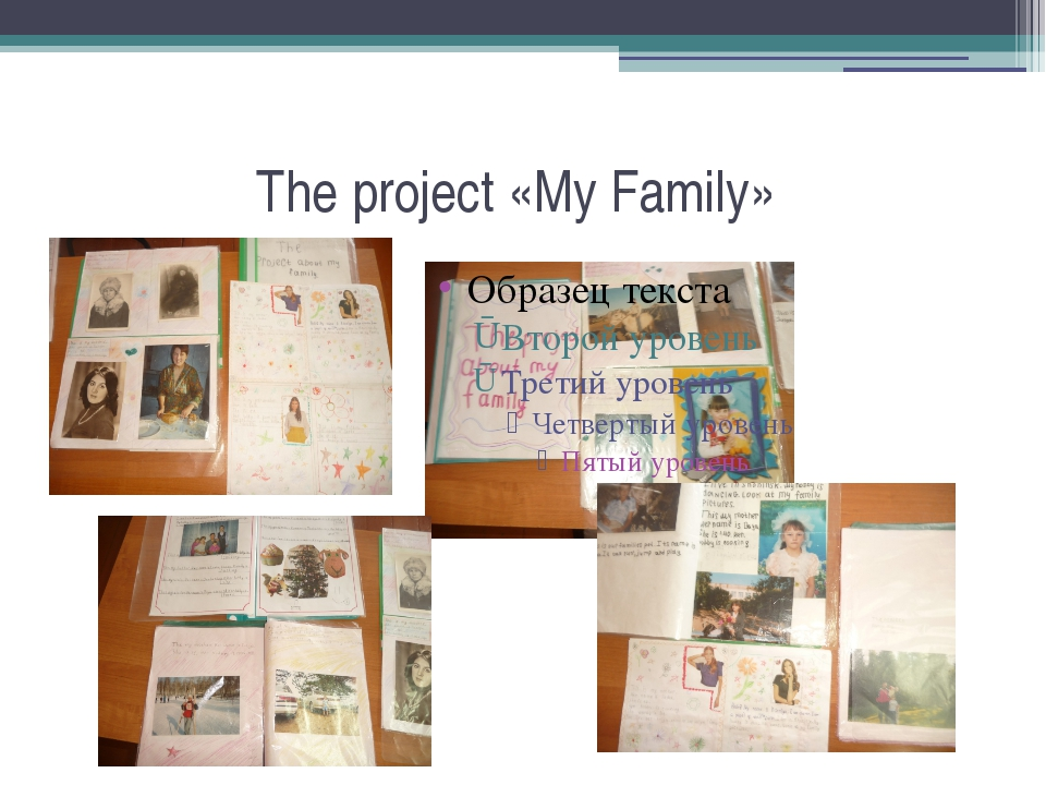 The project «My Family»