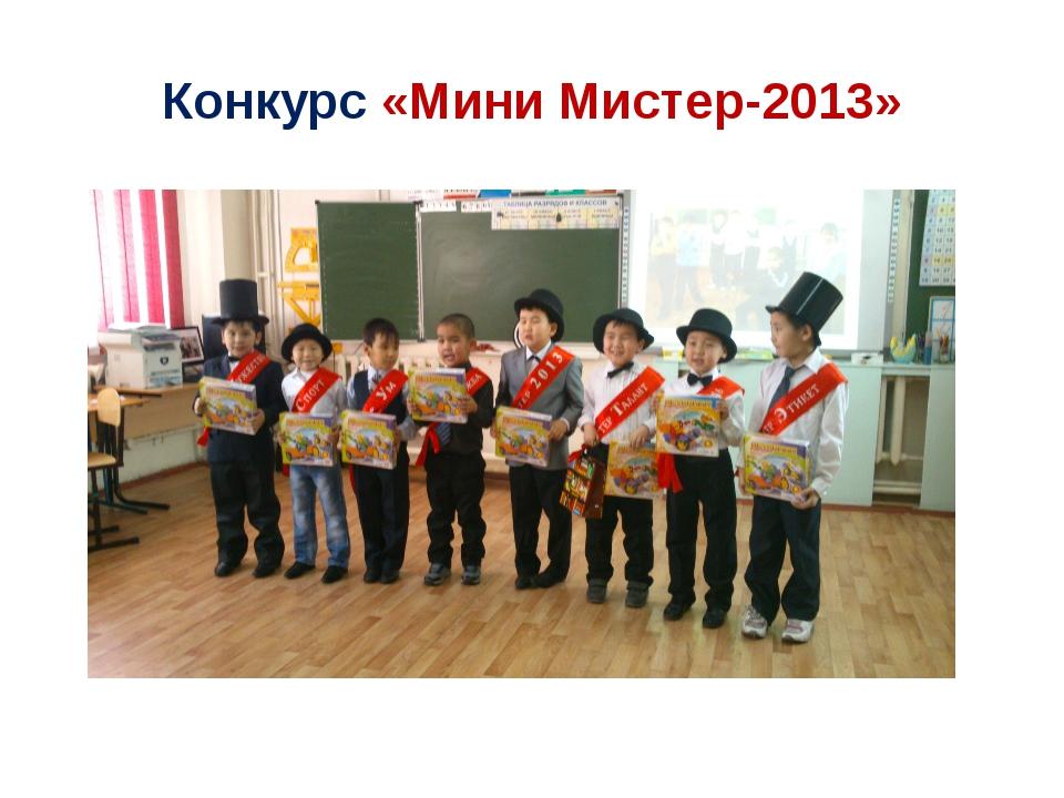 Конкурс «Мини Мистер-2013»
