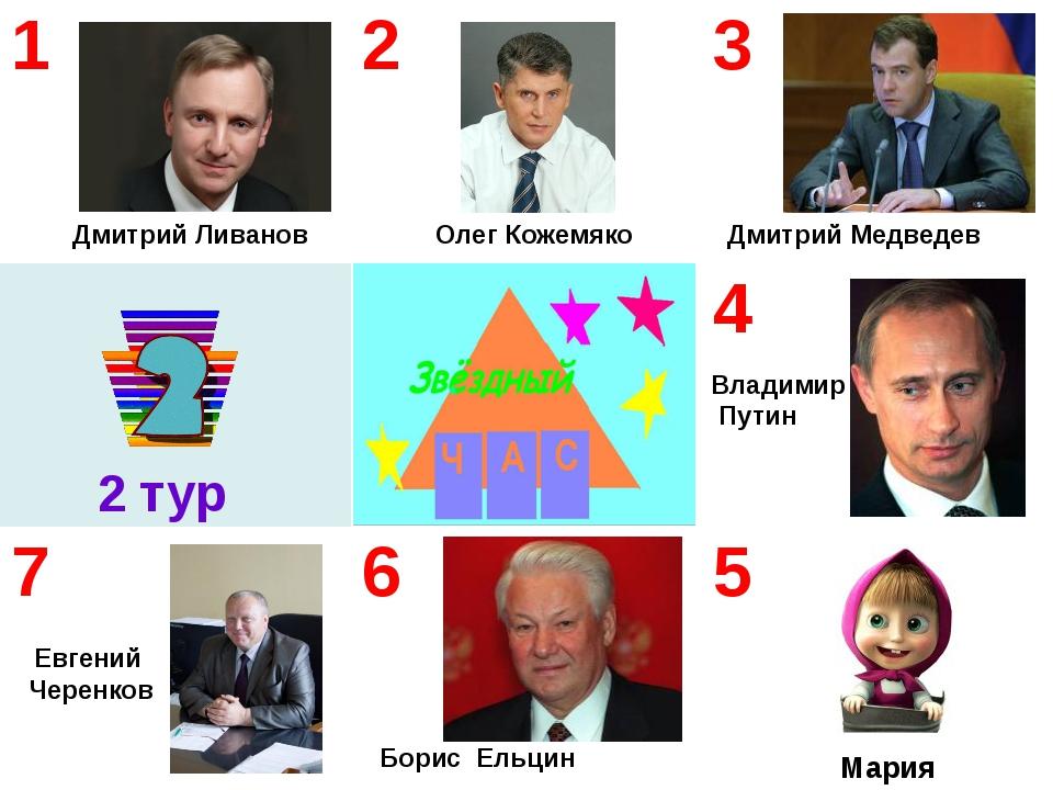 Олег Кожемяко Владимир Путин Мария 2 тур Дмитрий Ливанов Евгений Черенков Дм...