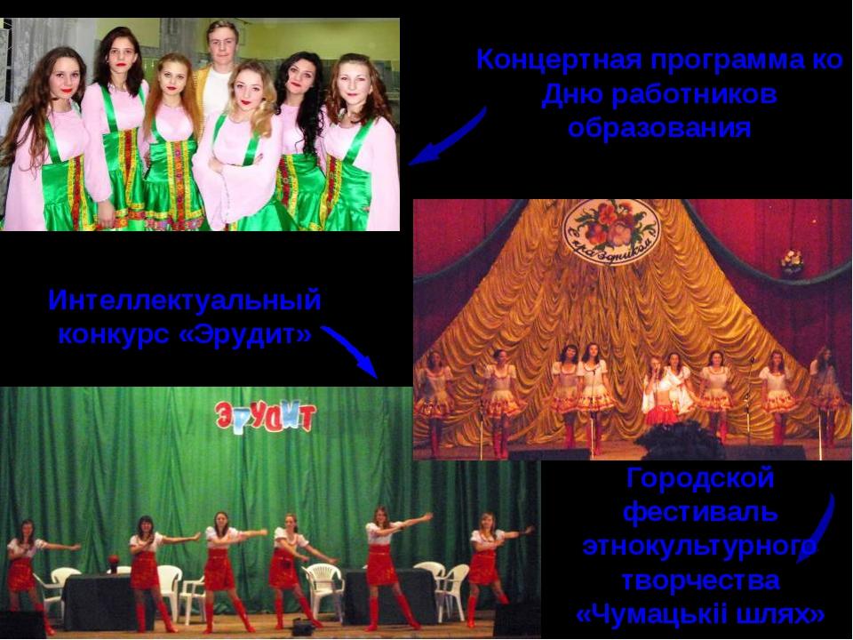 Городской фестиваль этнокультурного творчества «Чумацькii шлях» Концертная пр...