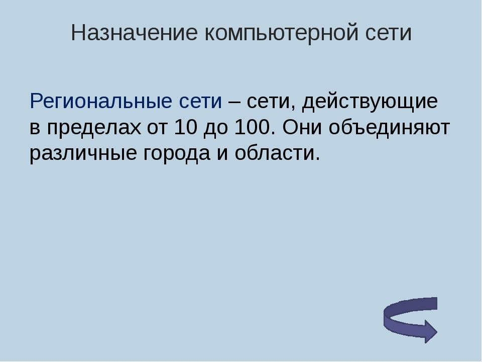 Одноранговая сеть Если к сети подключено более 10..15 пользователей, то однор...