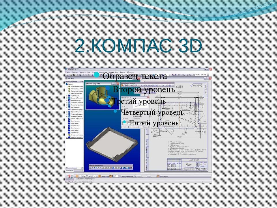2.КОМПАС 3D