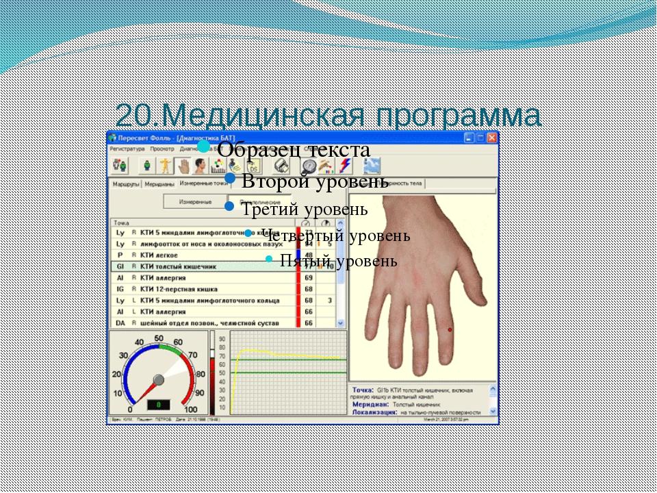 20.Медицинская программа