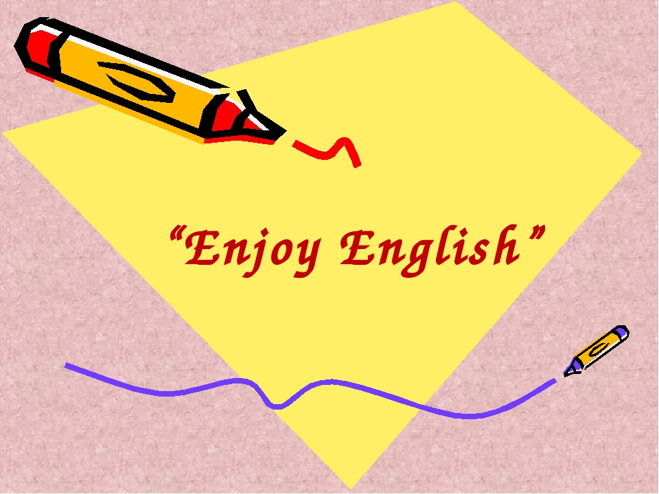 """Enjoy English"""