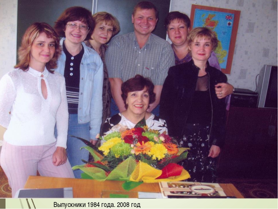 Выпускники 1984 года. 2008 год
