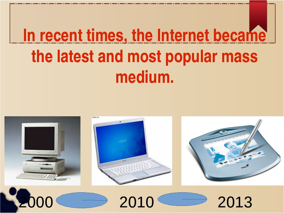 In recent times, the Internet became the latest and most popular mass medium....
