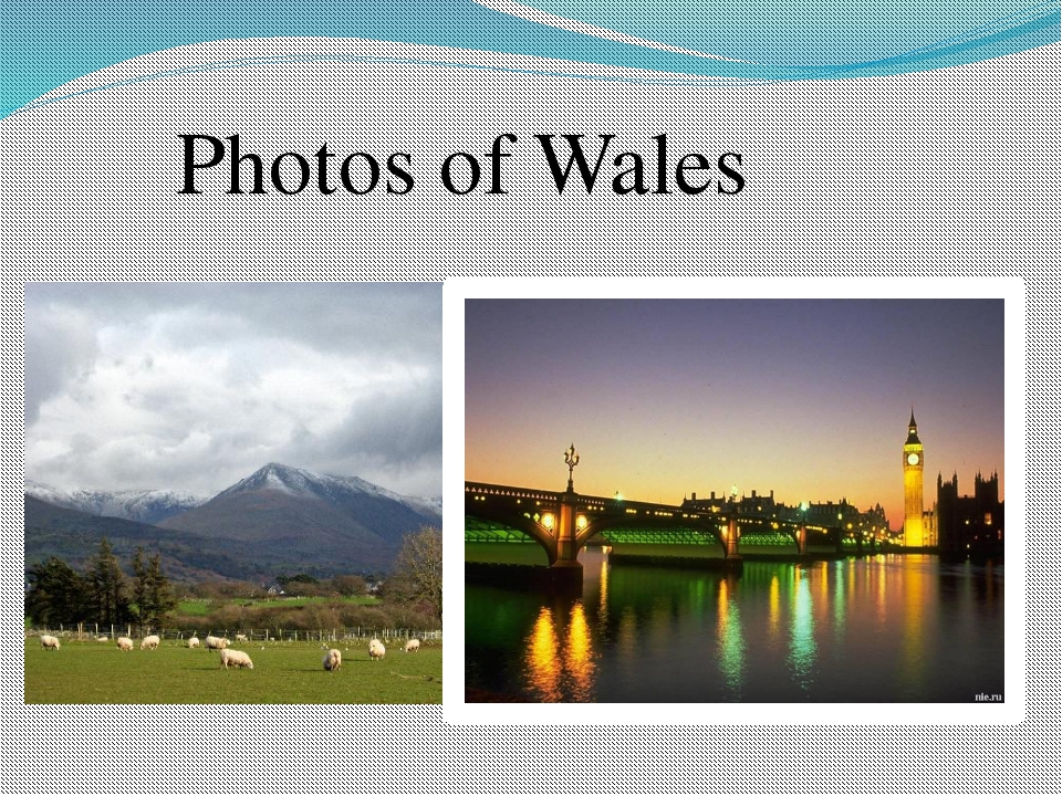 Photos of Wales