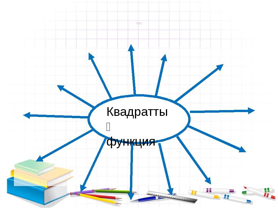 Ой толғаныс Ассоциация құру Квадраттық функция