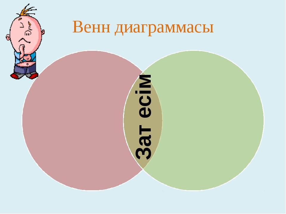 Венн диаграммасы Зат есім