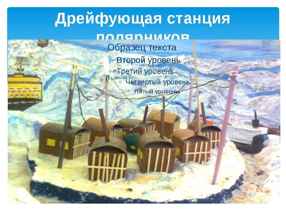 Дрейфующая станция полярников