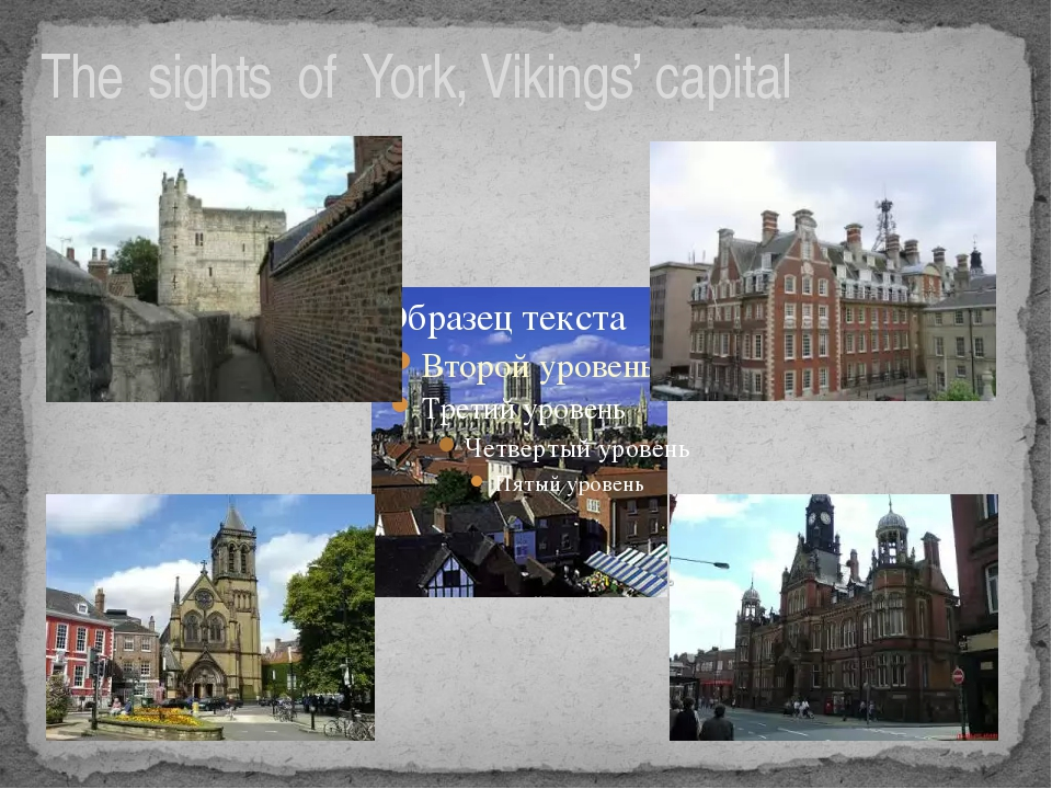 The sights of York, Vikings' capital