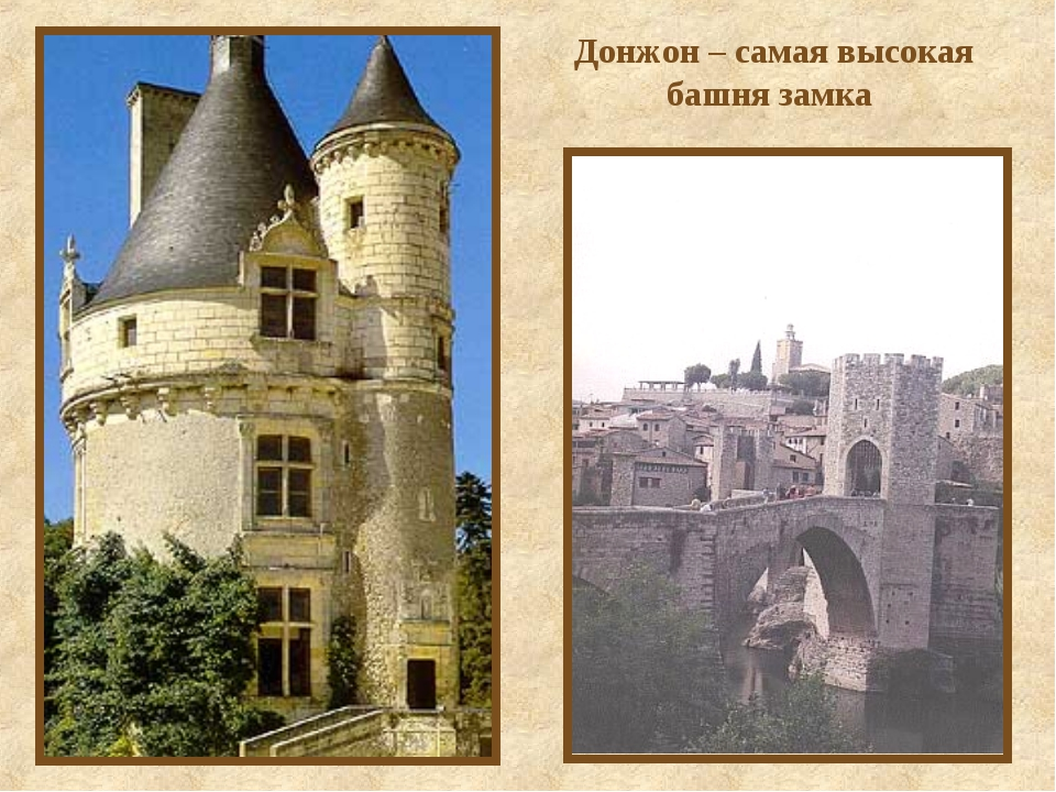 Донжон – самая высокая башня замка