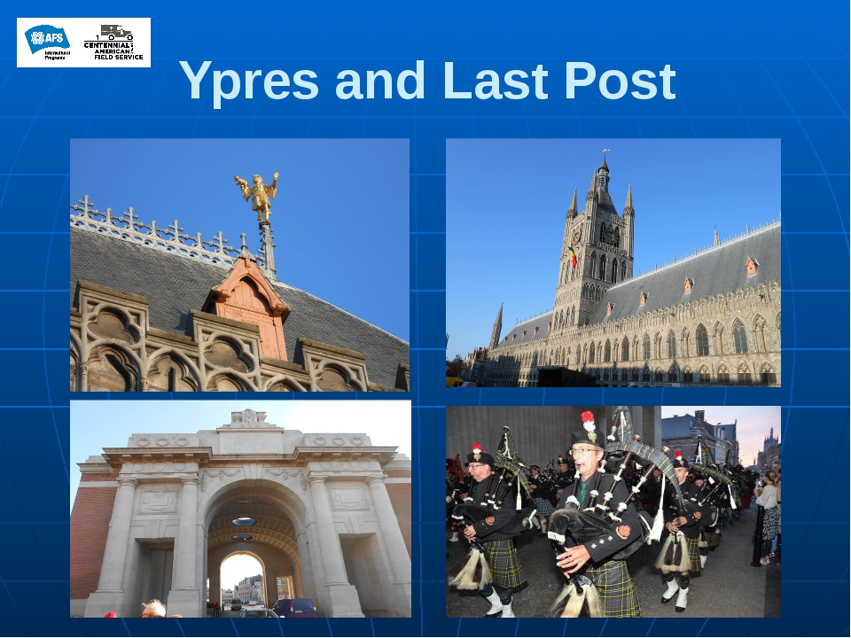 Ypres and Last Post