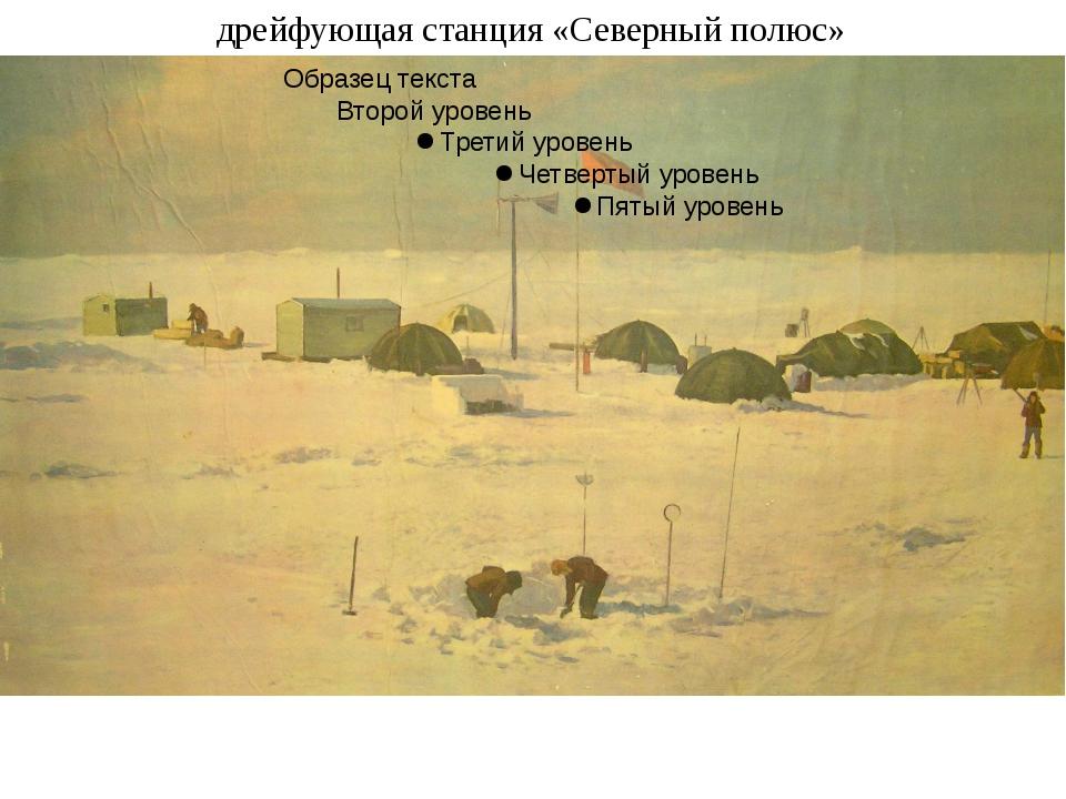 дрейфующая станция «Северный полюс»